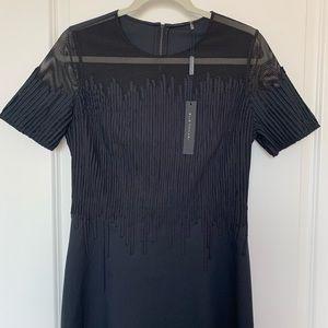ELIE TAHARI 'Ophelia' Shift Dress in Black NWT!!